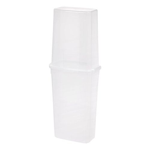 IRIS 40'' Vertical Storage Box, Clear by IRIS USA, Inc.