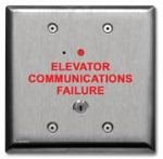 Standard Elevator Phone Box - Viking Electronics LV-1K Line Verification Panel with Key by Viking