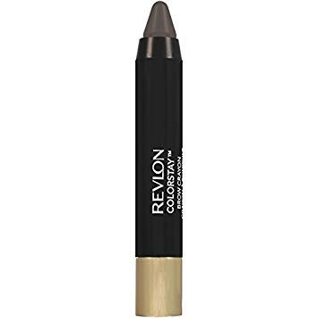 (Pack 2) Revlon ColorStay Brow Crayon, 320, Soft Black