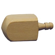 Wooden Dreidel .-Bag of 36 by WWD   B010D5YBOC