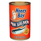 Honey Boy Pink Salmon, 14.75 Oz. Cans, (Pack of 6)