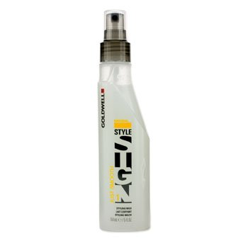 Price comparison product image Goldwell Style Sign Natural Just Smooth 1 Styling Milk (Salon Product) - 150ml/5oz