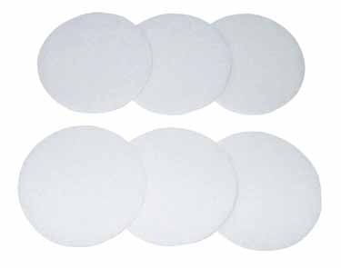 Electrolux VD46 White Polishing Discs x 6 -