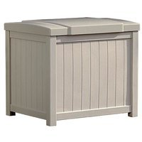 Suncast Heavy Duty Storage Box - 22.5 x 18 x 20.5 Inches, Indoor/Outdoor Use by Suncast