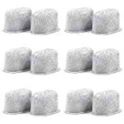 12 Pack Keurig Charcoal Water Filters Replacements - Removes Chlorine, odors, and others impurities from Water - Charcoal Water Filters for Keurig 2.0 Coffee Machines