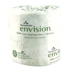 - Tissue, Toilet Envision Wht (Units Per Case: 80)