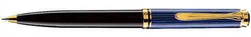 Pelikan Souveran 600 Black/Blue GT Ballpoint Pen - 996926