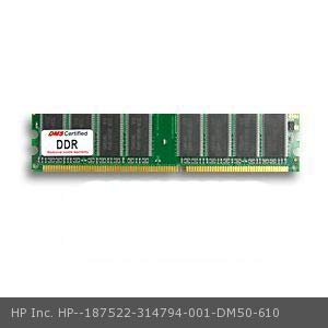 DMS Compatible/Replacement for HP Inc. 314794-001 Point of Sale System rp5000 1GB DMS Certified Memory DDR PC2700 333MHz 128x64 CL2.5 2.5v 184 Pin DIMM - DMS