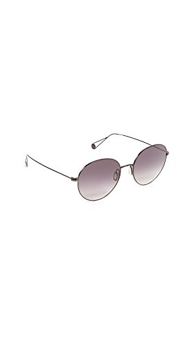 GARRETT LEIGHT Women's Valencia Sunglasses, Black/Black, One - Sunglasses Garrett