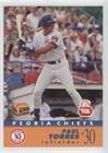 Paul Torres (Baseball Card) 1991 Kodak Peoria Chiefs - [Base] #20