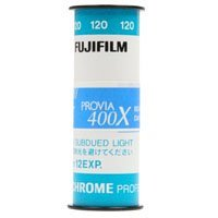 Fujifilm Fujichrome Provia 400X Professional (RXPIII), Color Slide Film, ISO 400, 120 Size, Transparency
