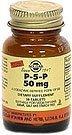 Solgar - P-5-P (pyridoxal-5-phosphate), 50 mg, 100 comprimés