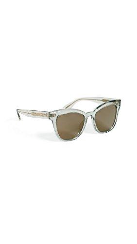Oliver Peoples Eyewear Women's Marianela Sunglasses, Washed Sage/Graphite Gold, One - Glasses Cateye Oliver Peoples