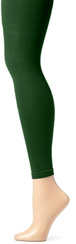 - Butterfly Hosiery Girls' Kids Childerns Solid Colored Dance Ballet Custume Seamless Opaque Footless Tights Leggings Stocking Hunter Green 12-14