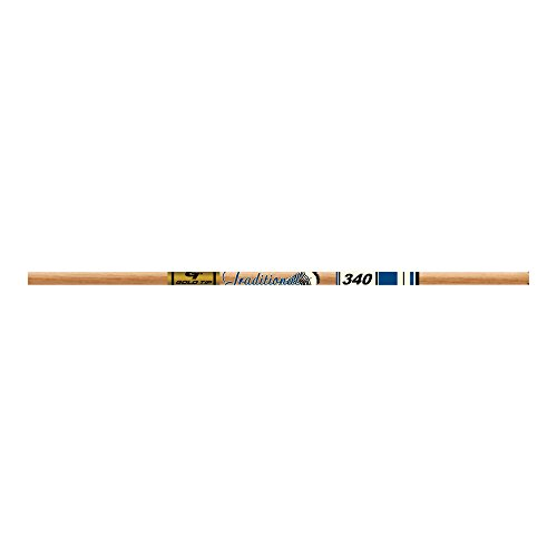 Wood Shaft Brown (Gold Tip Traditional XT Shafts (Pack of 12), Brown, 500)