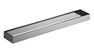 Dornbracht 83060780-06 Mem Towel Bar 24 Inch In Platinum Matte