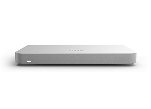 Meraki MX65 Small Branch Security Appliance (250Mbps FW, Layer 7, POE, Licensing Required)