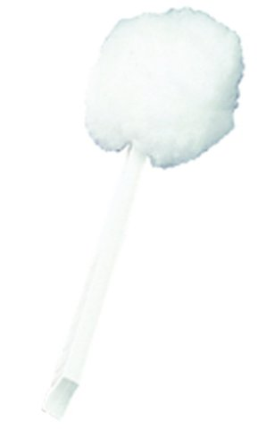 Impact 200 Deluxe Toilet Bowl Mop, 12'' Length x 5-3/4'' Height, White (Case of 100)