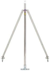 attwood Corporation Pylon 23-Inch Pole Height Ski Tow Ss Adj 2 X 4-Inch Base