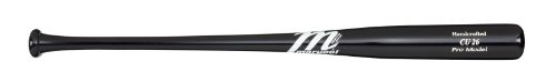 Marucci CU26 Chase Utley Youth 31-Inch Wood Base Bat, Black, 27-Ounce
