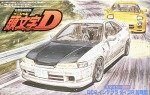 1/24 Initial D #15 Honda DC2 Integra type R (Initial type) from Fujimi model