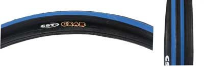 CST Czar Tire - 650c x 23, Black/Blue