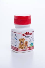 Vetz Petz Antinol 100% Natural. Healthy Joint, Skin and Cardio Vascular Maintenance.60 Caps for Dogs. by (Heartworm Prevention Medicine)