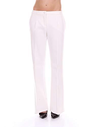 Pantalon Blanc Blumarine 2368white Polyester Femme pSMzqUV