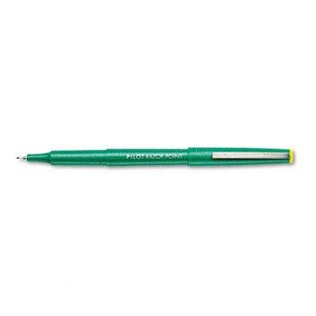 - Pilot® Razor Point® Porous Point Pen MARKER,RAZOR PT,X-FIN,GN TFI-PA070 (Pack of6)
