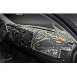 Camouflage Carpet Dashboard Cover- 2002-2005 Dodge Ram 1500, 2003 - 2005 2500 - 3500. Custom Fit Dash Cover, Easy Installation.