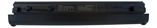 Toshiba PA3833U-1BRS Replacement Battery by TechFuel for Portege R835-P70 and R835-P56X Laptops and more - Professional Extended Capacity 9-cell, 71Wh Li-ion Battery