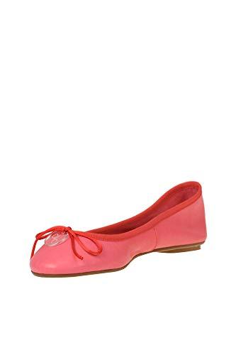 Anna Mcglcab000005094e Ballerines Baiguera Rouge Femme Cuir UrwFUZY