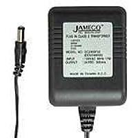 AC to AC Wall Adapter Transformer 12 Volt @ 1500mA Black Straight 2.1mm Female Plug