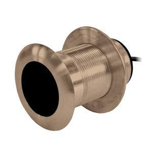 Garmin B619 20° Tilt Bronze Thru-Hull Transducer - 8-Pin Cable Length (Feet) = 30' ; Fairing Block Included