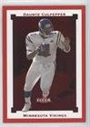 Daunte Culpepper #30/100 (Football Card) 2002 Fleer Premium - [Base] - Star Ruby #SR50