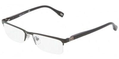 DOLCE&GABBANA D&G Eyeglasses DD 5104 BLACK 064 DD5104 - Rimless Eyeglasses Gabbana Dolce And