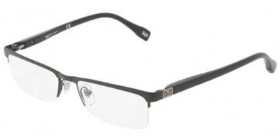 DOLCE&GABBANA D&G Eyeglasses DD 5104 BLACK 064 DD5104 - Dolce Eyeglasses Rimless Gabbana
