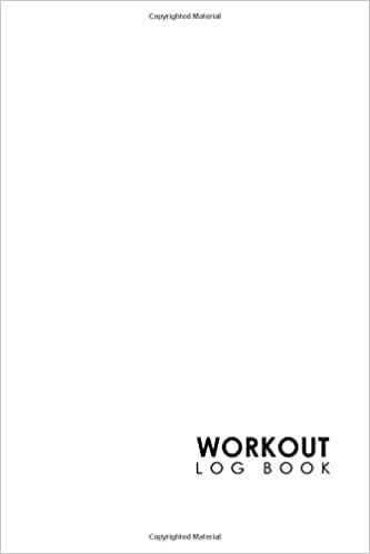 workout log book bodybuilding workout template track gym workouts