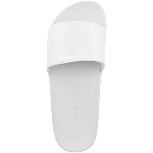 White pour Piscine spécial 8249 Chaussures Rider et Plage 11297 Femme white FqPxwWa