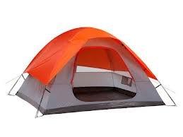 Embark Four 4 Person Tent — Color: Orange, Outdoor Stuffs