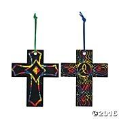 Magic Color Scratch Cross (Magic Color Scratch Cross Ornaments)