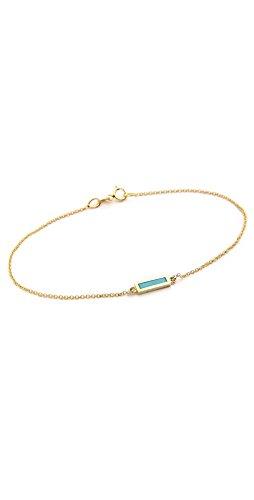 Jennifer Meyer Jewelry 18k Gold Inlay Short Bar Bracelet by Jennifer Meyer Jewelry
