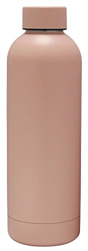 Blush Coffee (GHP 176658 Exquis Vacuum Insulated Rounded Bottle, 17 oz, Matte Blush)