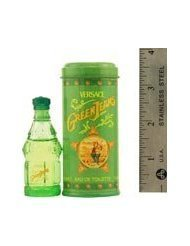 GREEN JEANS by Gianni Versace for MEN: EDT .25 OZ MINI (note* minis approximately 1-2 inches in - Green Versace