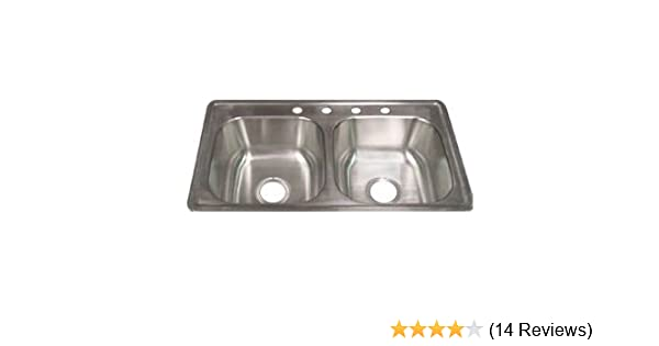 33 X 19 X 8 Extra Deep Mobile Home Kitchen Sink Amazon Com