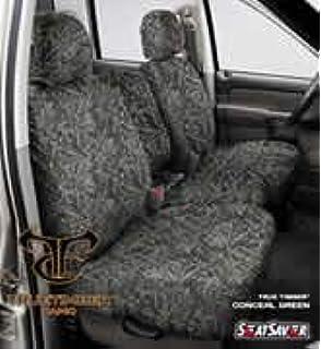 Covercraft SS8497PCGY Grey 2019 Ford Sd Crew Cab Rear 60//40