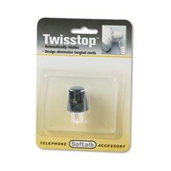 Twisstop Detangler (-- Twisstop Rotating Phone Cord Detangler, Black)