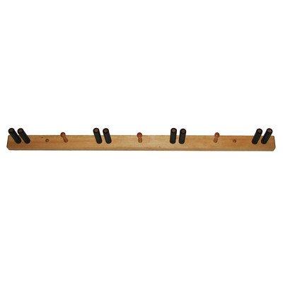 """Ski Storage Rack, pine (PINE) (2.5""""H x 46""""W x 5.5""""D)"""