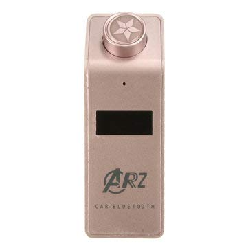 (Car Audio & Monitor Car MP3 Player - Car Wireless Hands Free Transimittervs Modulator MP3 USB Charger with Bluetooth Function - Rose Gold -)