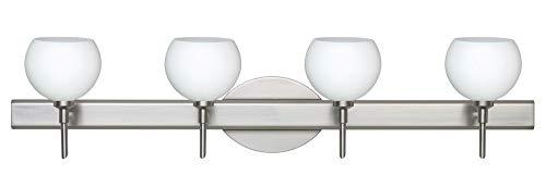 Besa Palla Bathroom Light - Besa Lighting 4SW-565807-LED-SN Palla 5-30.38